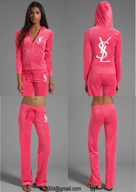 60EUR, jogging femme velours rose,jogging yves saint laurent femme rose,survetement  ysl femme en 2916aabb0ad2