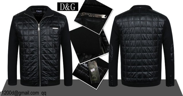 Discount veste veste Dolce Veste Homme Gabbana q8wanFT