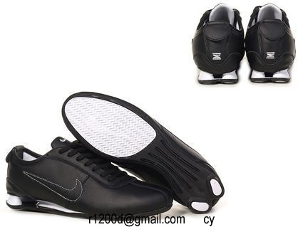 chaussure nike shox pas cher homme