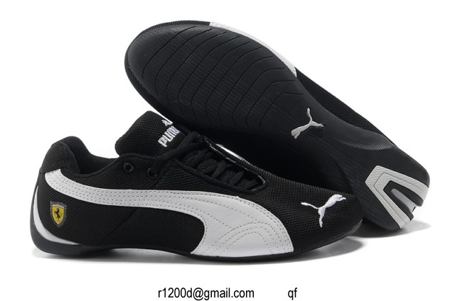 quality design 72780 146f8 Homme Chaussures Et Puma Cuir Blanc Sport Noir basket chaussure 6pfq5p