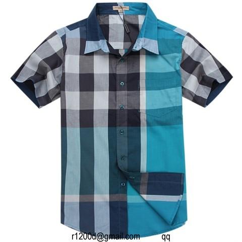 ba850cefbadb 30EUR, chemise manche courte homme de marque,grossiste chemise homme  italienne,nouvelle chemise burberry manche
