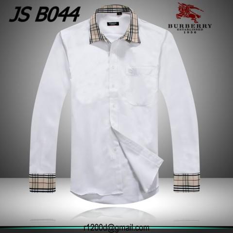 d4e70847c76 Vendre Homme A Chemise Blanche chemise Burberry prix pqHEURxv6w