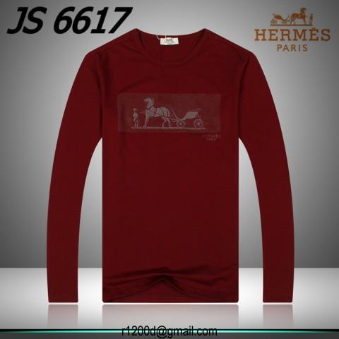 111f04db9952 32EUR, t shirt hermes rouge,t shirt fashion a vendre,t shirt manches  longues hermes